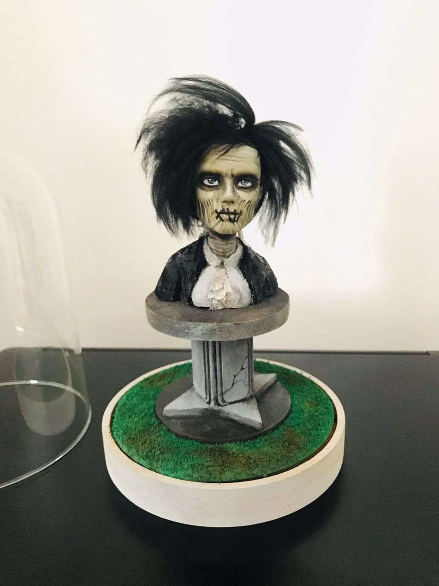 Loving my new custom Billy Butcherson piece! He's absolutely perfect!! @actordougjones  #HocusPocus #SandersonSisters #Salem #BillyButcherson #October #Spellbook #BlackFlameCandle #Amuck #Collectible #HocusPocusAddict #AllHallowsEve #Samhain #Collection #Nostalgiapic.twitter.com/PDCbIid1n1