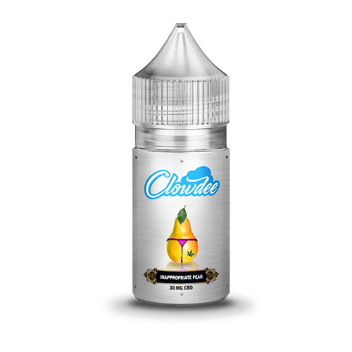 -Clowdee Inappropriate Pear E-Liquid You know that one person at the beach that should never be wearing that swimsuit but does it anyway? That's Inappropriate Pear: All sweet and moist and gooey and she doesn't care what you think because she rocks.  https://www.clowdee.com/store/clowdee-eliquids/inappropriate-pear-e-liquid?CLD97kukut65mol…pic.twitter.com/1kZBOZ51Sw