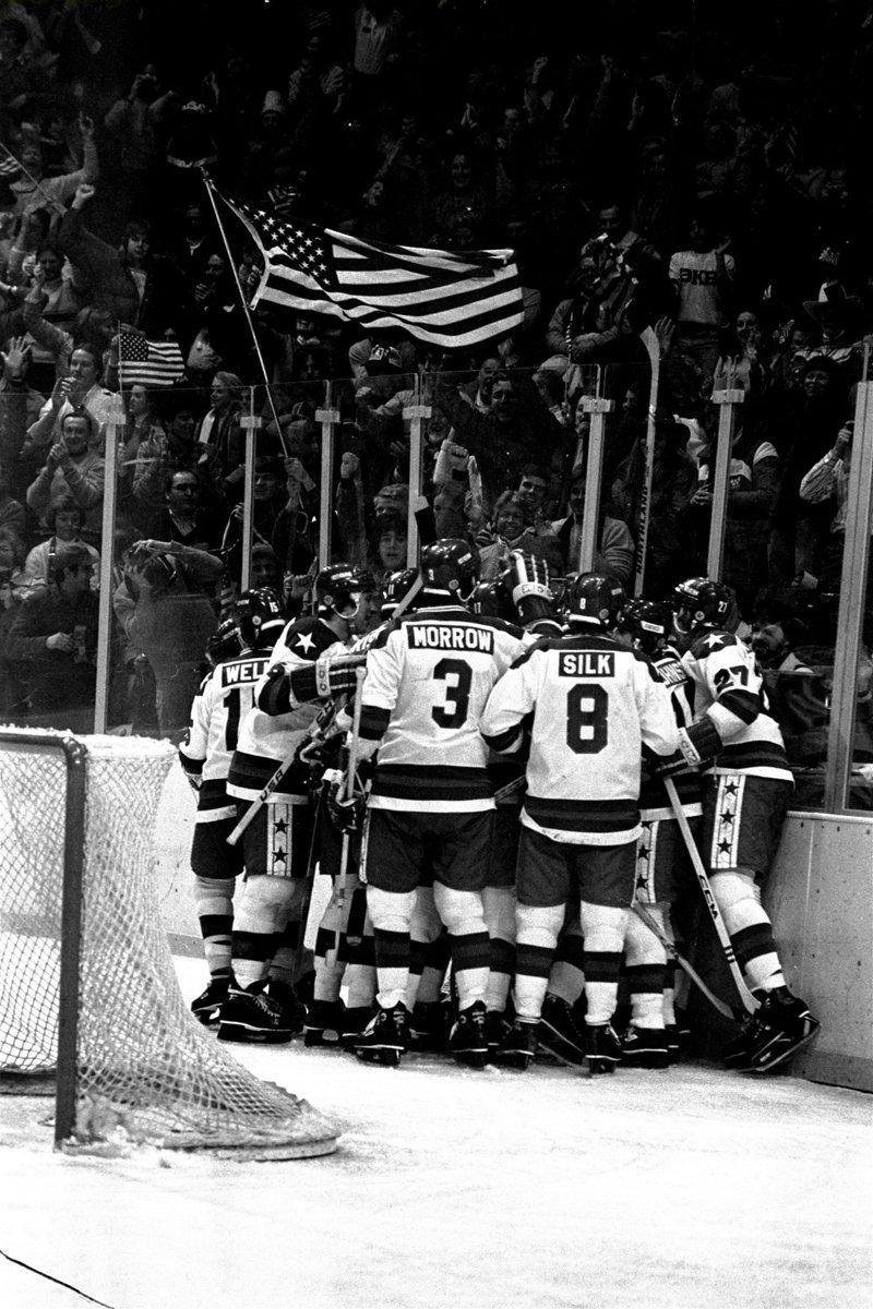 DO YOU BELIEVE IN MIRACLES?! 40 years ago today.