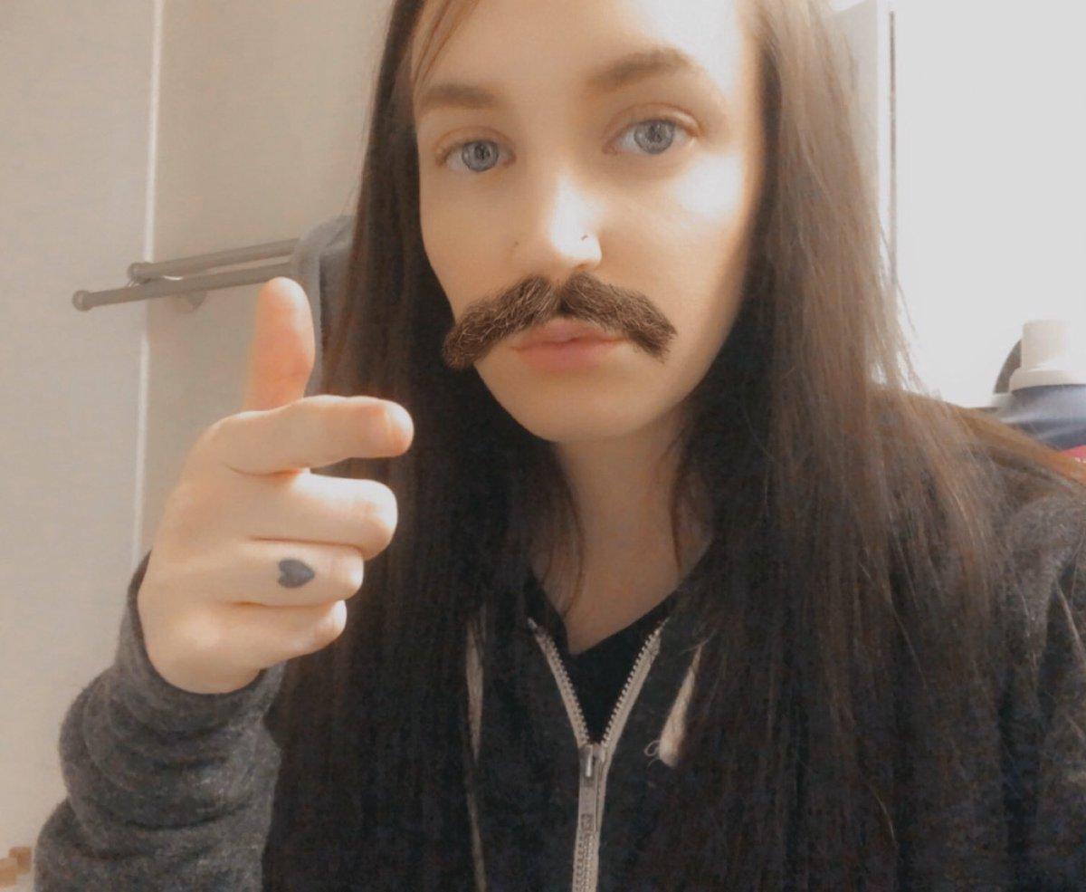 sequisha mustache pic.twitter.com/aF4X0poSvG
