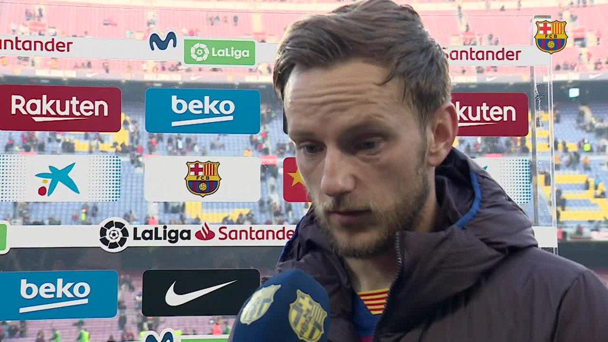 🔊 @QSetien  🔊 @ivanrakitic  🔊 @arthurhromelo  🔊 @MartinBraith   🎥 Les declaracions dels protagonistes del #BarçaEibar