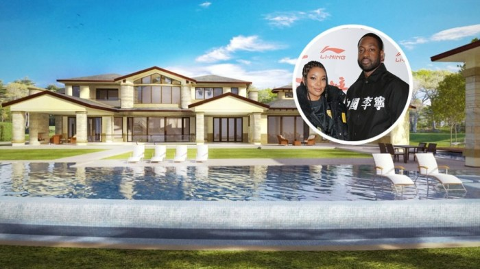 Dwyane Wade and Gabrielle Union drop $20 million on a mega-mansion in Hidden Hills