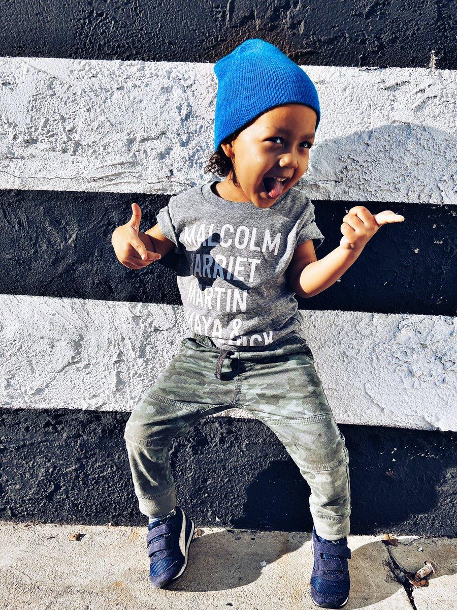When it's a leap year so you get a extra day of Black History Month  Shirt from @target . . . . . . #blackhistorymonth  #leapyear #cutekids #maxwelldunn #boymom #boymomlife #socalmom #lamommies #momlife #mamalife #momofboys<br>http://pic.twitter.com/wd8netODNz