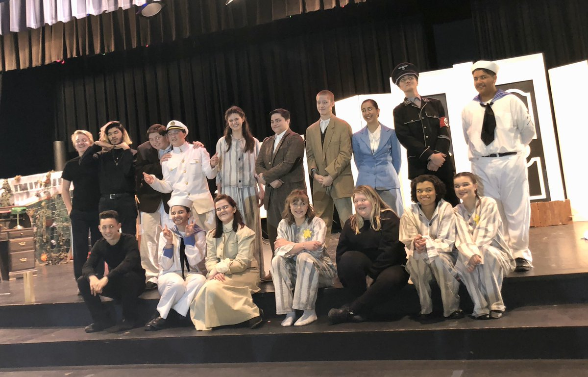 Brilliant performance by One Act Play Cast- Break a leg in the UIL competition #OAP