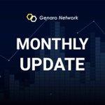 Image for the Tweet beginning: 2020.02  Genaro Network (GNX) Monthly