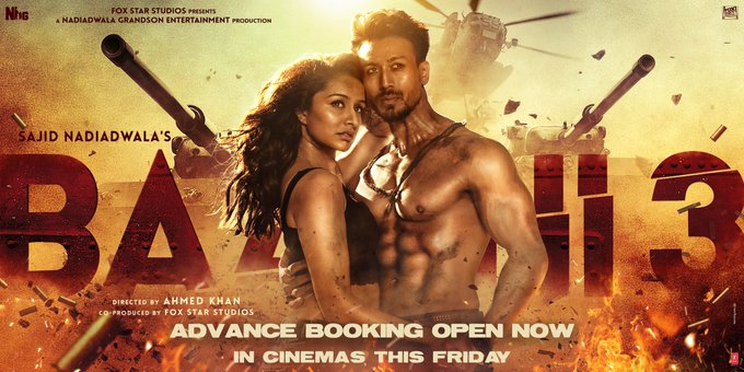 The wait is over Baaghians! Book your seats & get ready to witness the action-packed drama in cinemas
