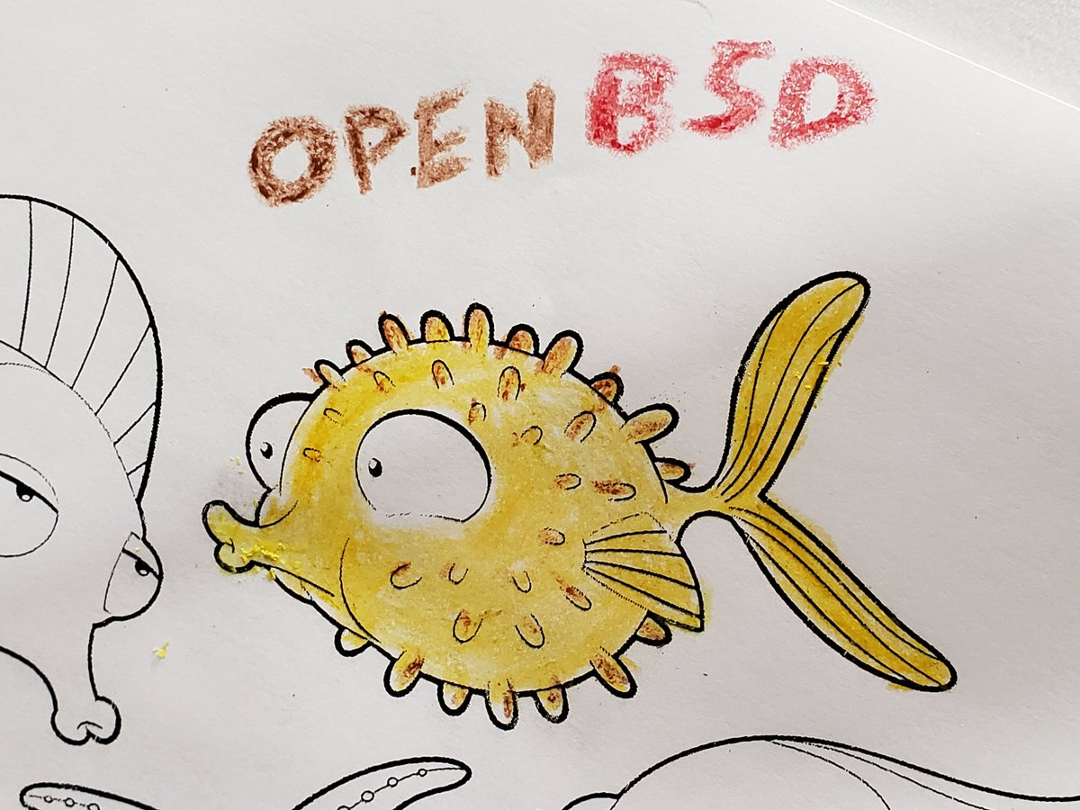 Passing time while my car being serviced. #openbsd pic.twitter.com/i9Y1XgYarN