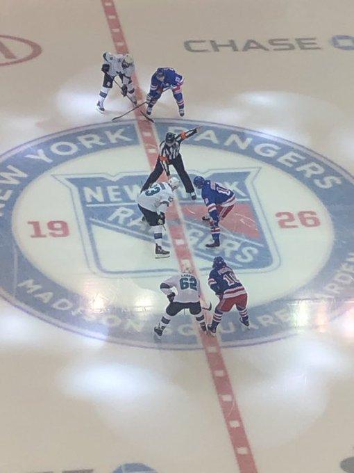 Rangers, Sharks