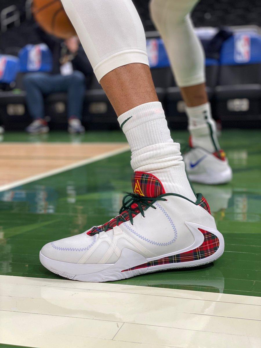 👀 @Giannis_An34's Zoom Freak 1 for #NBAonABC action! #NBAKicks