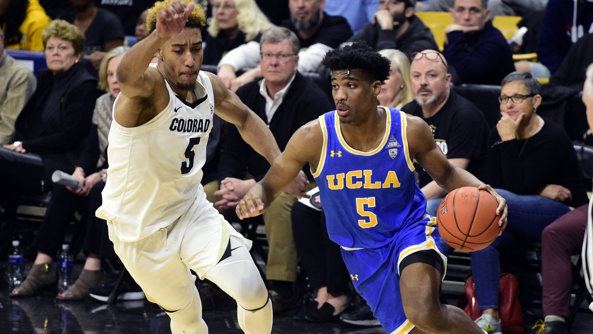 UCLA picked up its fifth consecutive win on Saturday, taking down No. 18 Colorado on the road, 70-63.   Cody Riley, 16 points  Tyger Campbell, 15 points & 11 assists  Chris Smith, 14 points  RECAP:  https:// ucla.in/39XPQbK    <br>http://pic.twitter.com/EzfOAjKDQD