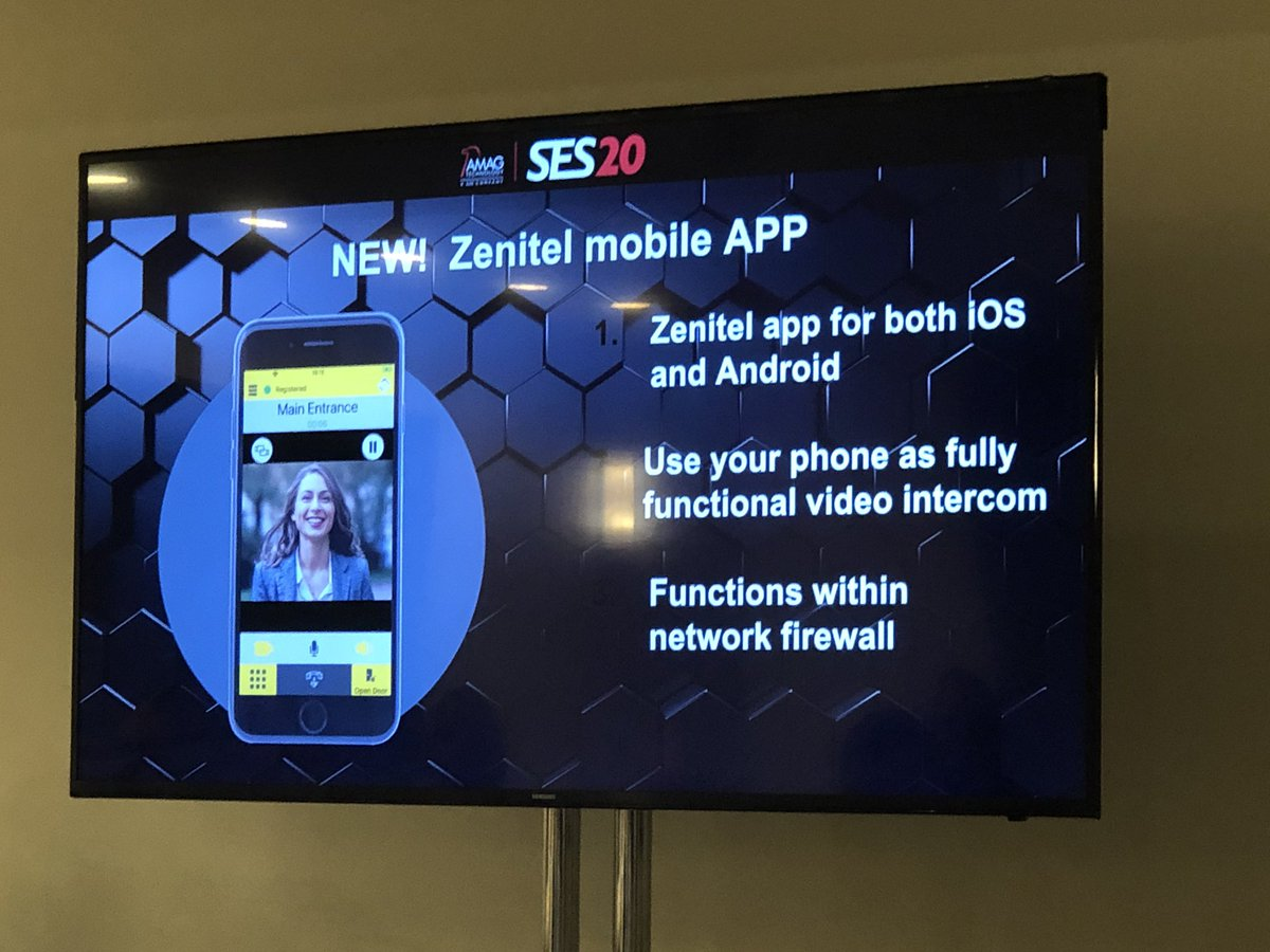 Announced at #AMAGSES20 ... @VSbyZenitel new #MobileApp! #SSNTalks #CustomerExperience #Securitypic.twitter.com/5JJhJMHRj1
