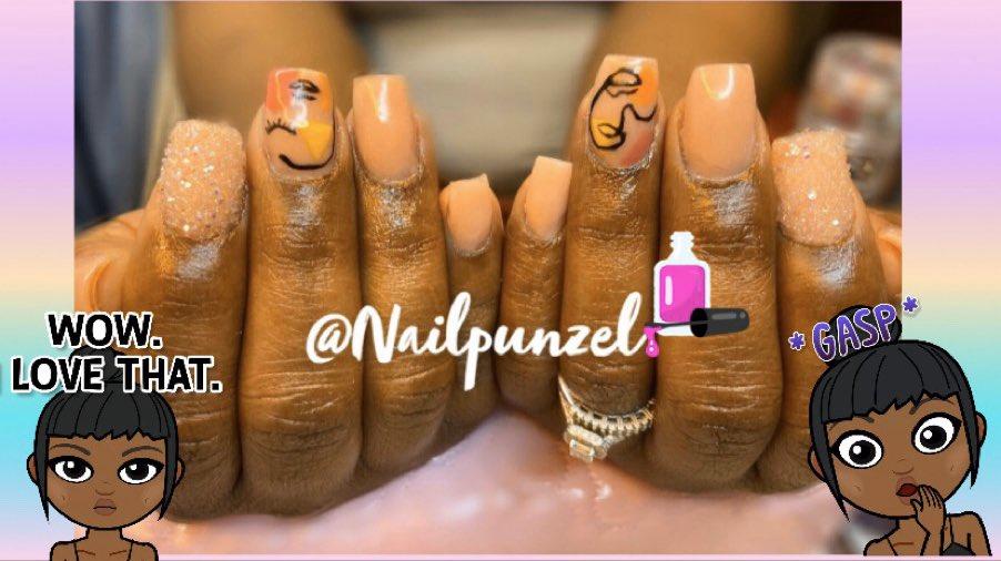 ABSTRACT ART NAILS #Nailpunzel pic.twitter.com/MXbCAVRL8Q