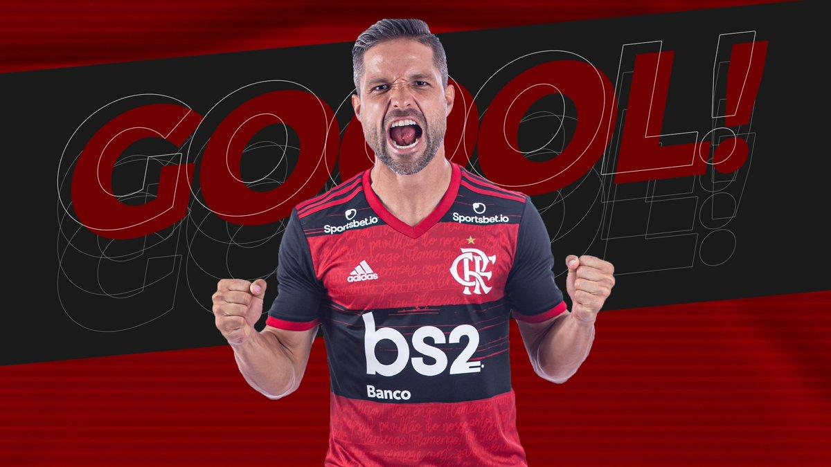 GOOOOOOLLL! Diego empata o jogo na final da Taça Guanabara