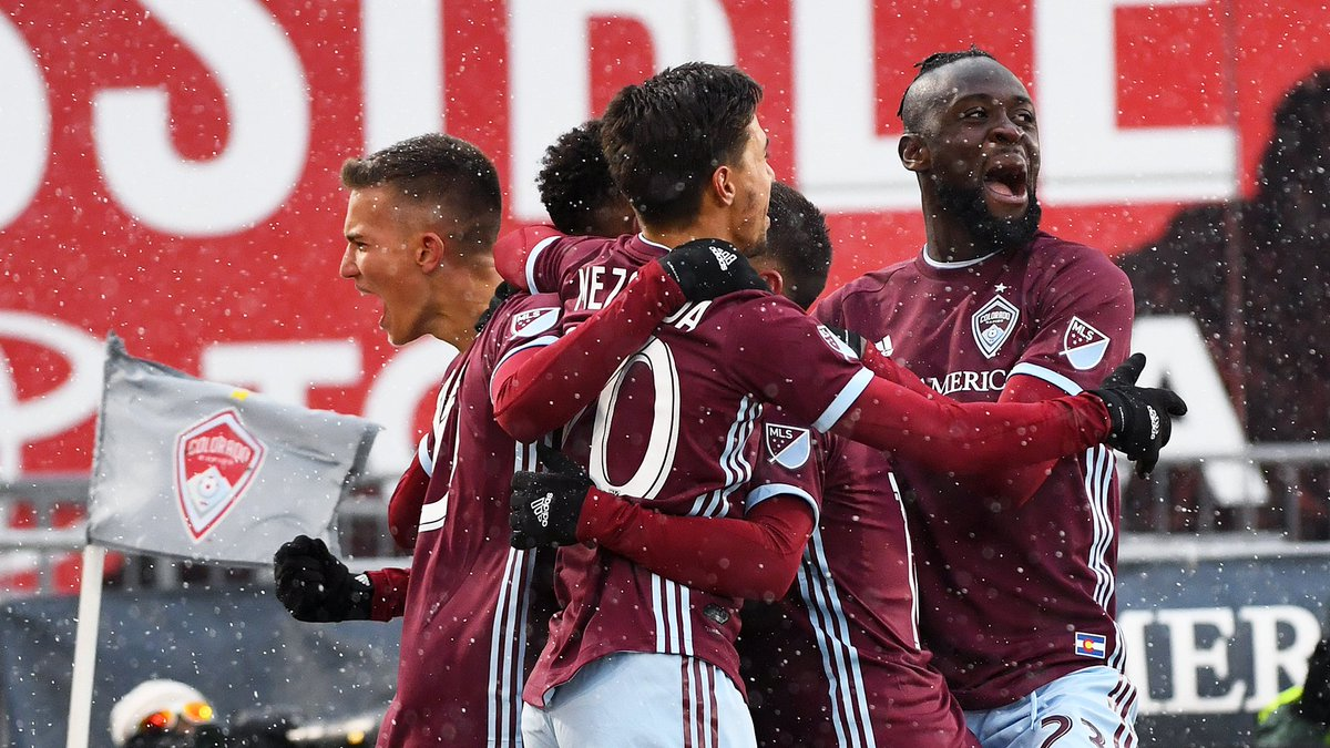 Seven days until we open up the 25th @MLS season! #Rapids96