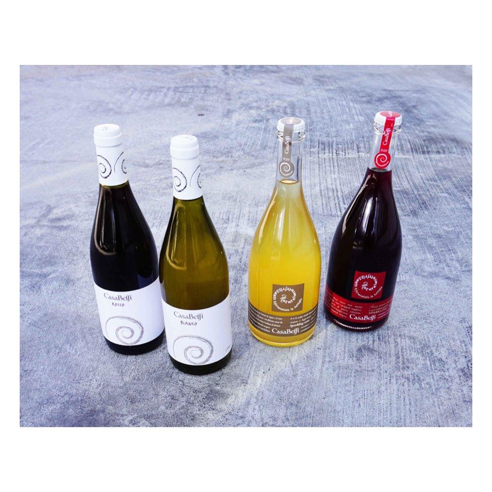 Casa Belfi lineup! Ancestral method sparklers and some great still wines from Veneto, Northern Italy. .  . . . #naturalwine #primalwine #wine #vino #italianwine #veneto #organic #biodynamic #prosecco