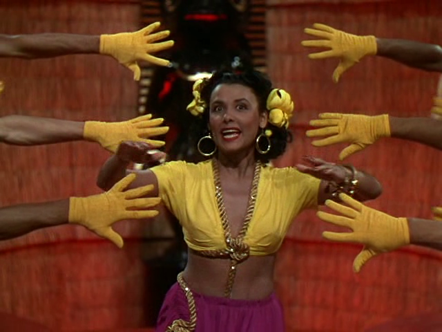 "lena horne doing the ""brazilian boogie"" in broadway rhythm (1944) #BHM"