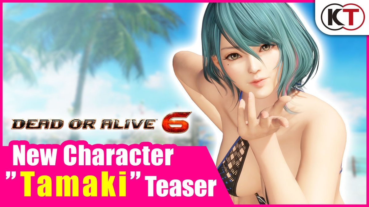 A curious gal stumbles into the DEAD OR ALIVE 6 Arena. Her name? Tamaki. Her fighting style? It's yet to be known. Stay tuned for more fighters as Tamaki makes her way into the DEAD OR ALIVE 6 fighting game universe. *Tamaki is included in Season Pass 4*