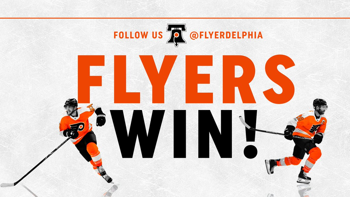 Final: #Flyers defeat the #Jets, 4-2. #FlyersTalk