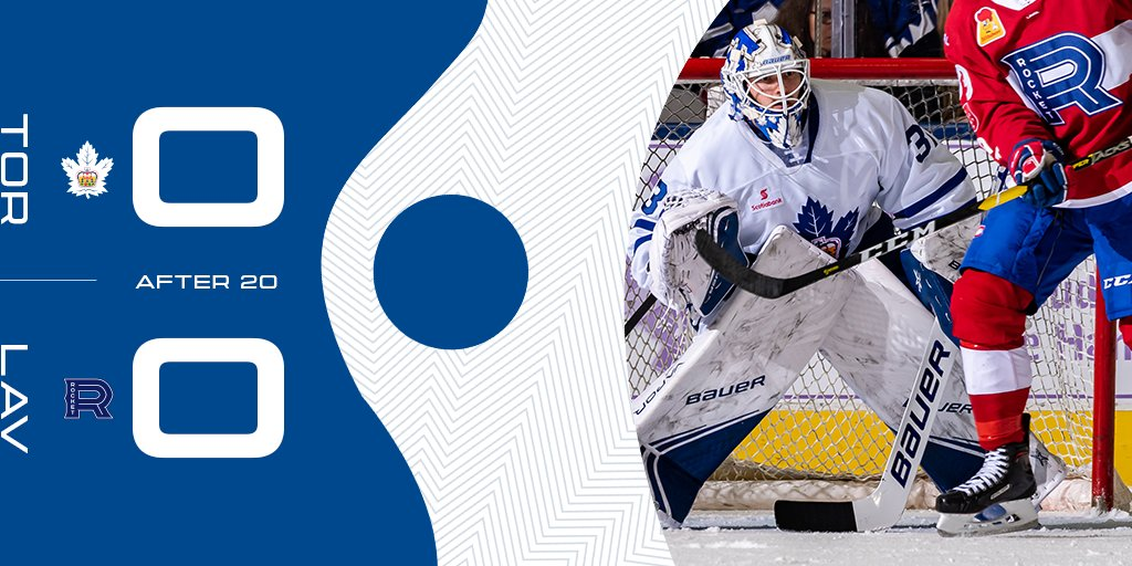 Some good chances in that opening frame, but no score after 20 minutes of play. #MarliesLive