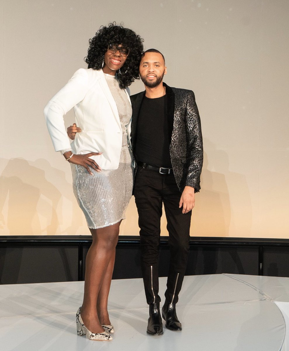 HUGE SHOUT OUT to @humblehearthann @98chrissmith for allowing me to be apart of @sip_and_marvel Fashion Gala as the Model Director. Successful show! Until next time. #AllStarWeekend #SipAndMarvel #HGFashion #FashionShow #Chicago