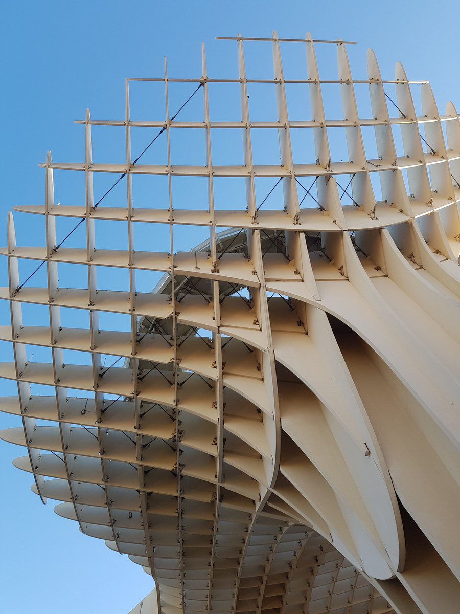 And I've been captured by the shapes from Metropol Parasol. pic.twitter.com/UCtYzmdvQB
