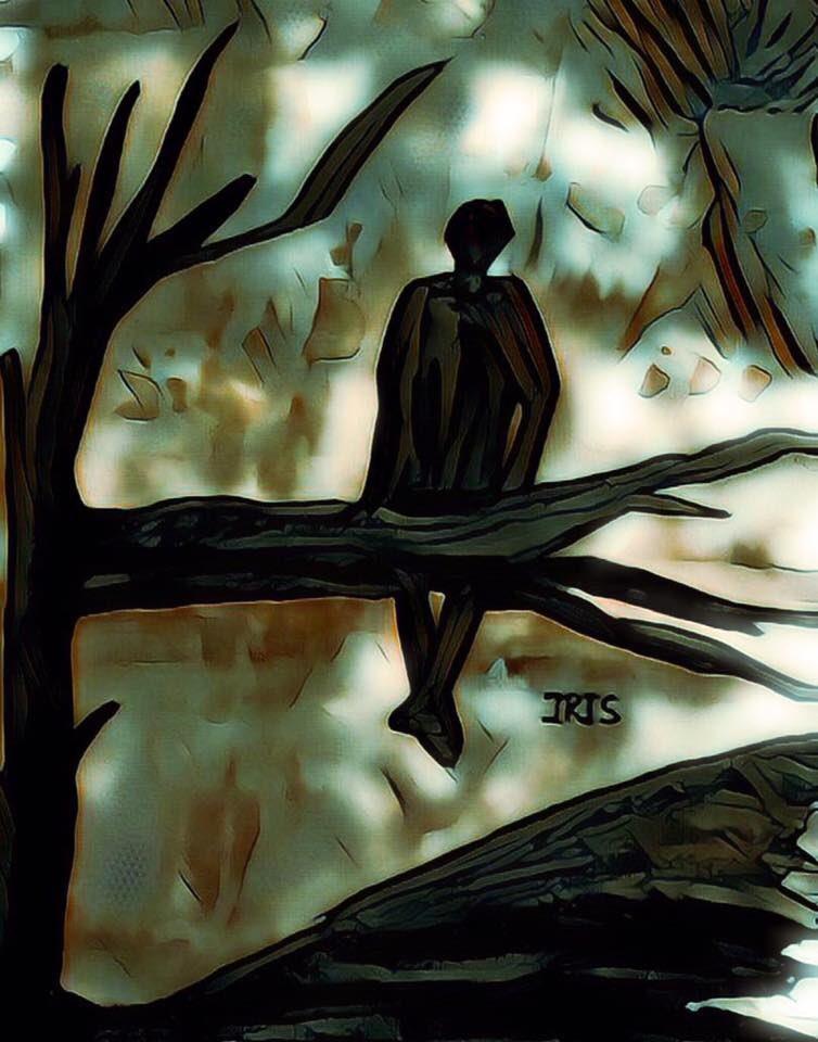 The Lonely Warrior, painted by @IRISUNART #irisunart #art #artistic #artist #arte #artsy #arts #painting #paintings #paint #watercolor #watercolors #instartist #instalove #instalike #galleryart #onlinegallery #fineart #instalove #instalike