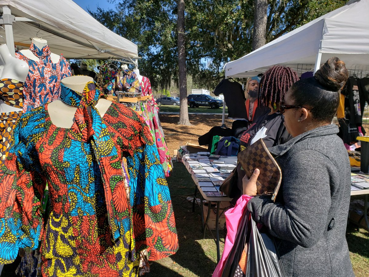 From clothing to jewelry to art. Find what speaks to you at the #FAMUharambee festival.pic.twitter.com/Z0iiYodC2e
