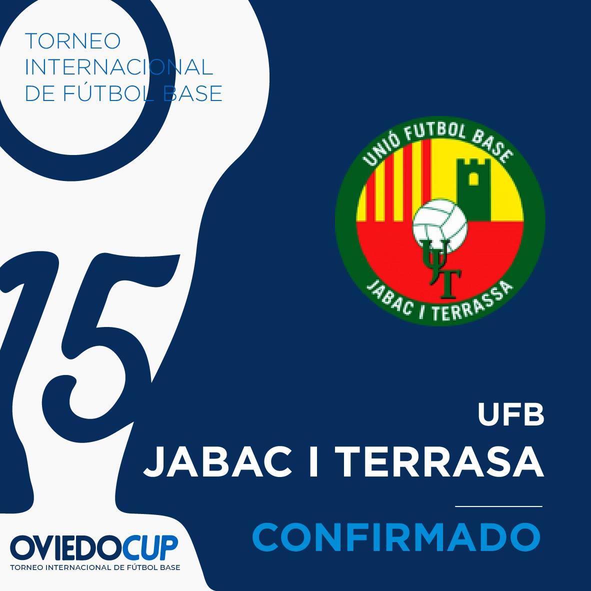   EQUIPO CONFIRMADO  ¡¡Otro año más, el club catalán estará presente en la #OviedoCup2020!! @UJabacTerrassa  #TorneoInternacional #FútboBase #OviedoCup #XVEdición #SemanaSantapic.twitter.com/u5voDW0qNJ