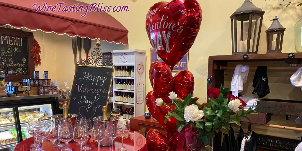 Replying to @WineTasteBliss The Mello Cielo bus tour at Ruby Hill Winery was a perfect Valentine's Day event!  #wine #winelover #livermorewine #wineSaturday