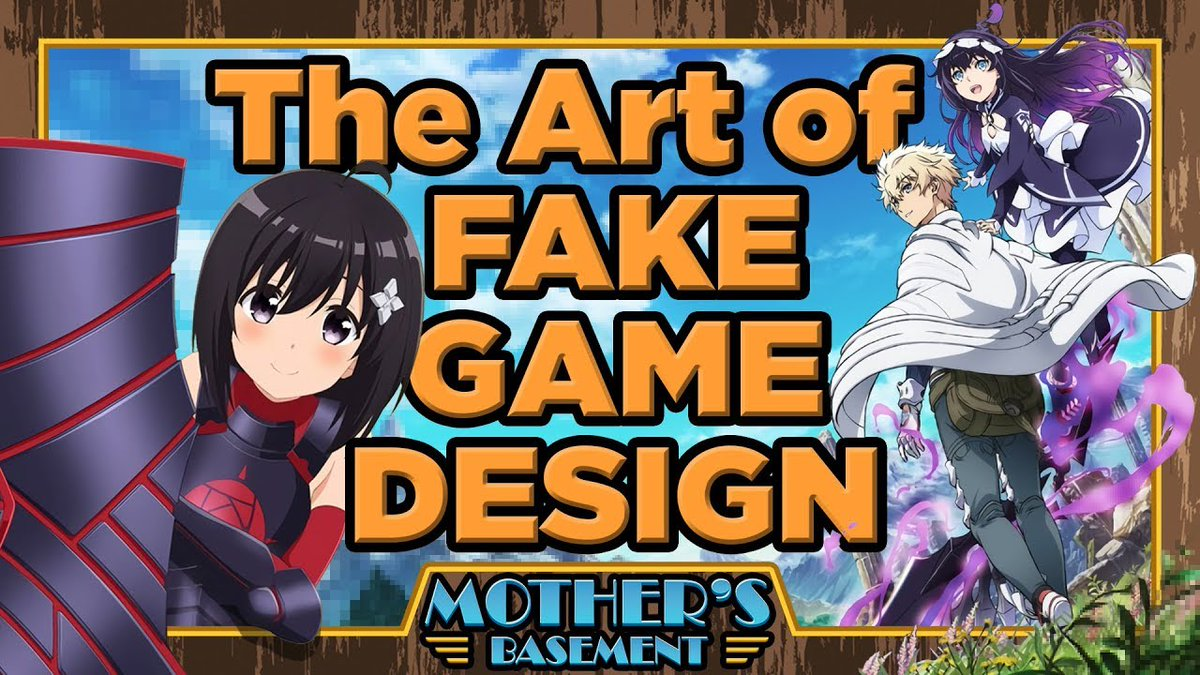 Three years ago I made a big ol' video breaking down why the fictional game design behind SAO is... kinda terrible. Today, Bofuri and Infinite Dendrogram show us how to make a fake VRMMO that's actually good! https://youtu.be/kH3y3YfIC6o