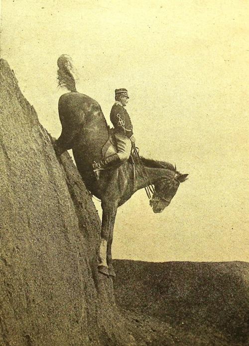 Italian Cavalry School at Tor di Quinto near Rome 1906.