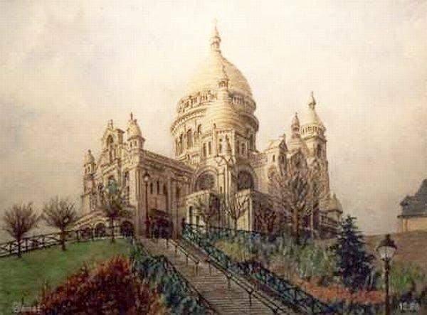 Georges Jamet Sacré-Coeur de Montmartre. Paris