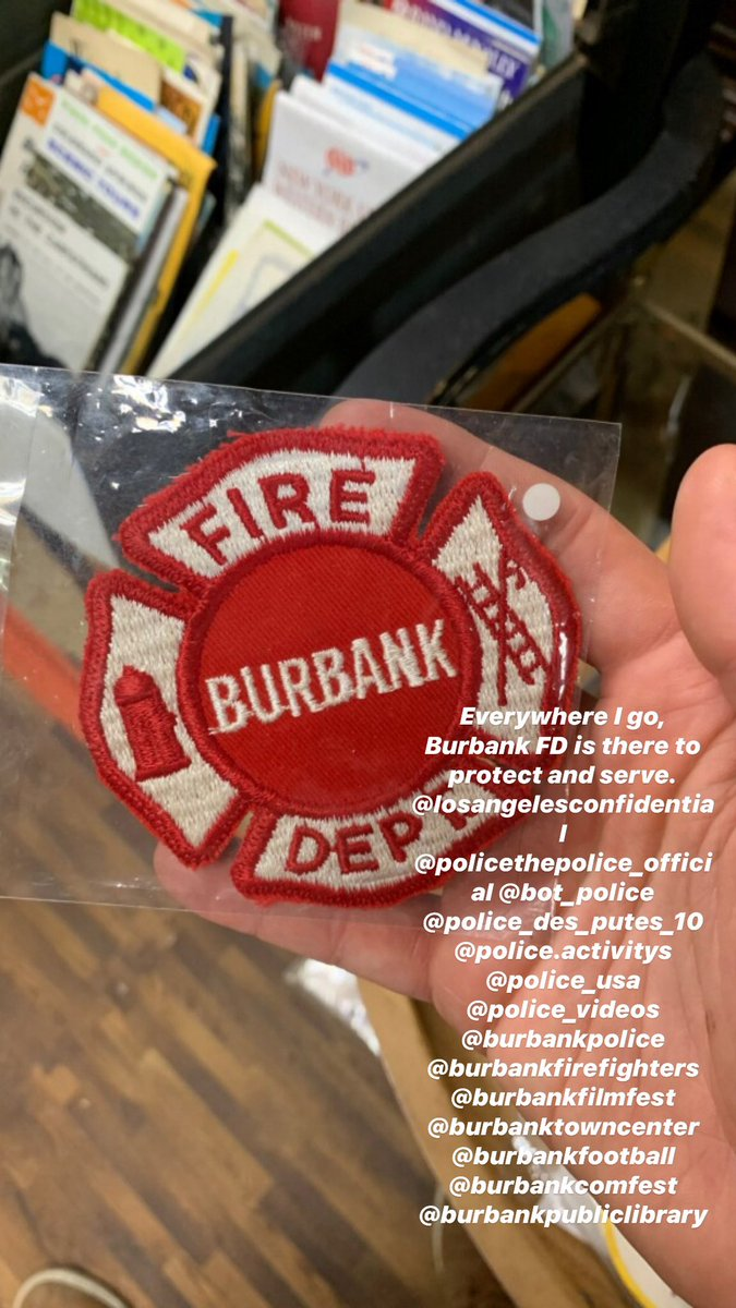Everywhere I go, Burbank FD is there to protect and serve. @losangelesconfidential @policethepolice_official @bot_police @police_des_putes_10 @metpoliceuk @police_usa @police_videos @burbankpolice @burbankfirefighters @burbankfilmfest @burbanktowncenter @burbankfootballpic.twitter.com/PW4hNfgSjC