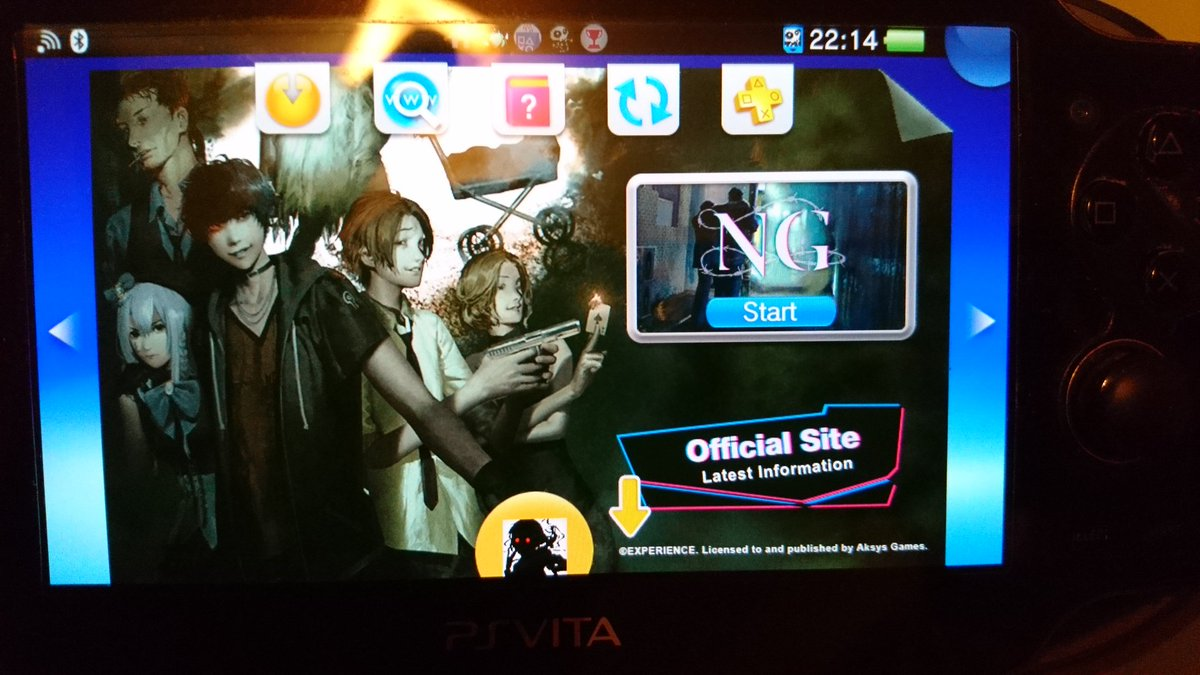 Psn sale recommendation:  Spirit hunter NG!   Now waiting for a discount on night cry and atelier series...   #vitaisland #PSVita<br>http://pic.twitter.com/XJ6ZFiyDms