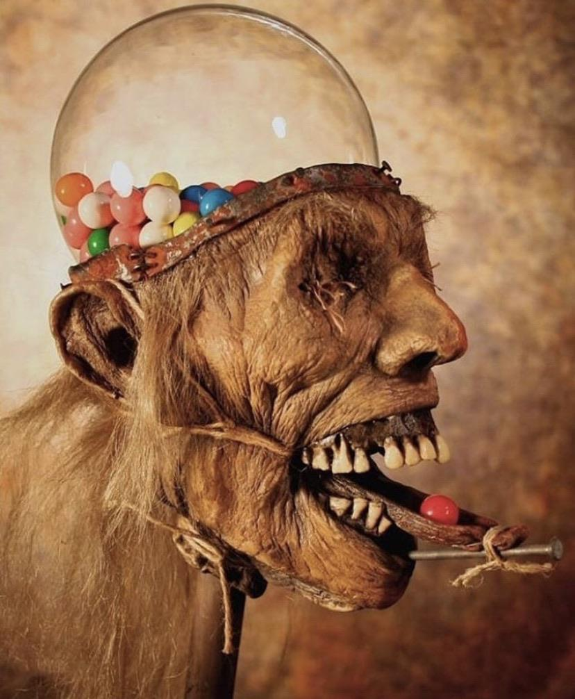 Fancy Some Candy?   Sculpture #art by Thomas Kuebler<br>http://pic.twitter.com/Xjd9vNbGch