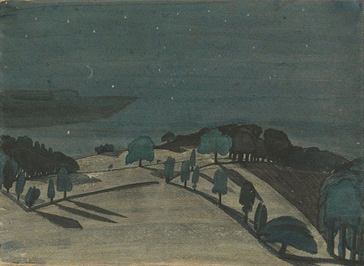 Moonlight Landscape (c. 1914), John Nash <br>http://pic.twitter.com/GttSPaRd1J