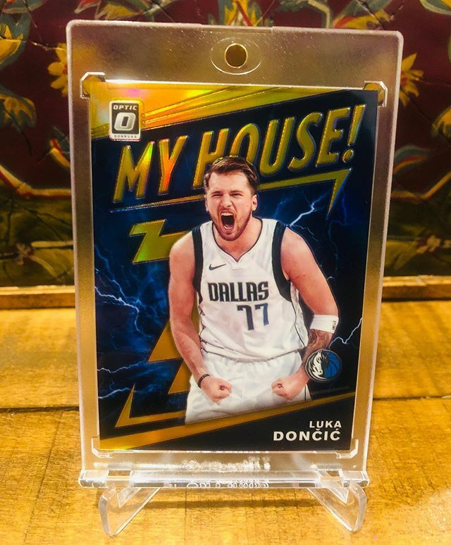 2019-20 Donruss Optic Luka Doncic My House Gold /10 #donrussoptic #donrussopticbasketball #opticgold #lukadoncic #lukadonciccards #whodoyoucollect #thehobby