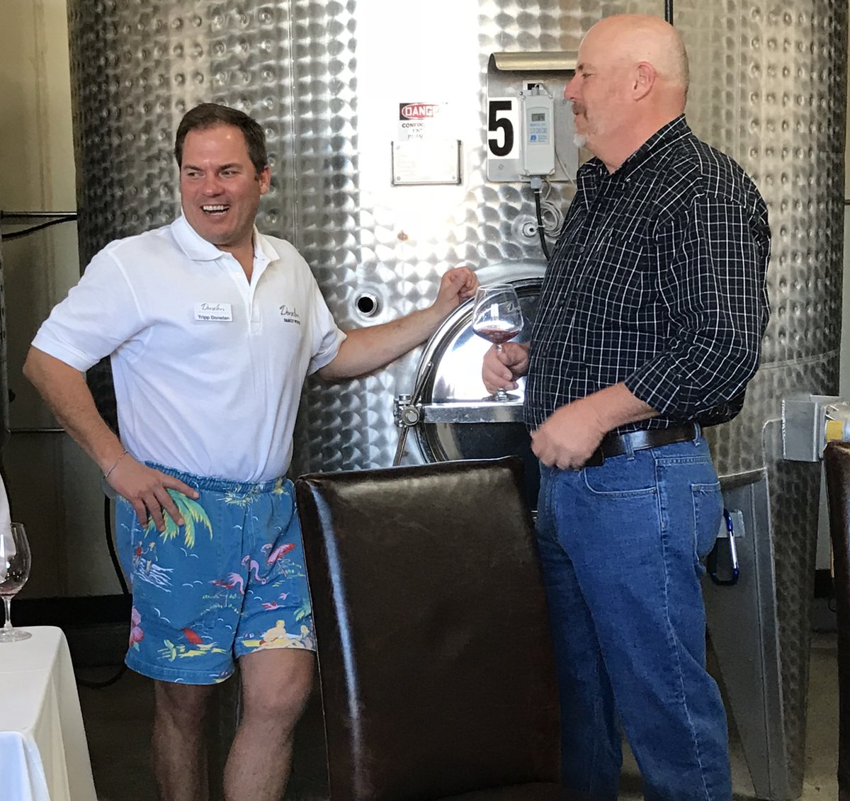 Shorts season is year-round when it comes to Tripp Donelan.  #donelanwines #shorts #throwback #westcoast #wine #redwine #whitewine #tradition #cheers #family #friends #winetasting #sonoma #sonomacounty #santarosa