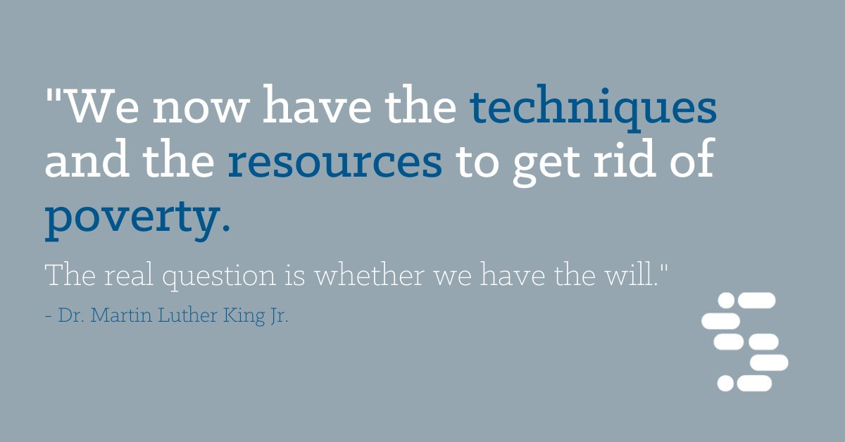 Dr. Martin Luther King's words inspired our CEO's recent #TEDxMemphis talk. Do you have the will? If so, join us.