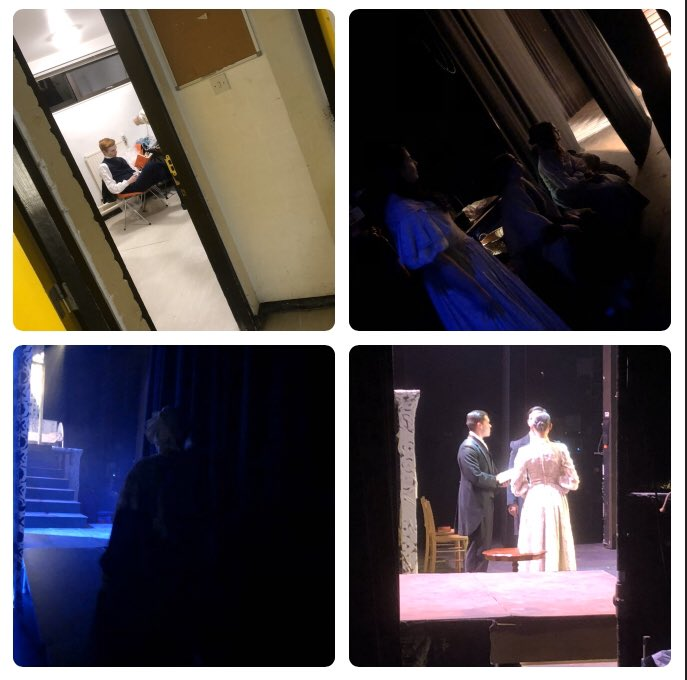 Waiting in the wings (2) #JaneEyre #winter2020 pic.twitter.com/q5ImXIuDJ6