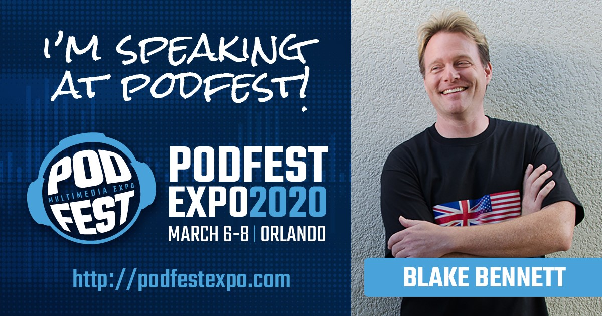 Are you a #podcaster ?  Going to #podfestexpo ?  I'll be speaking there March 7th at 2:15 PM on audiobooks and narration!  You can find out more at  http://www. podfestexpo.com      .  #pme2020.<br>http://pic.twitter.com/5Wj1z8Fsu3