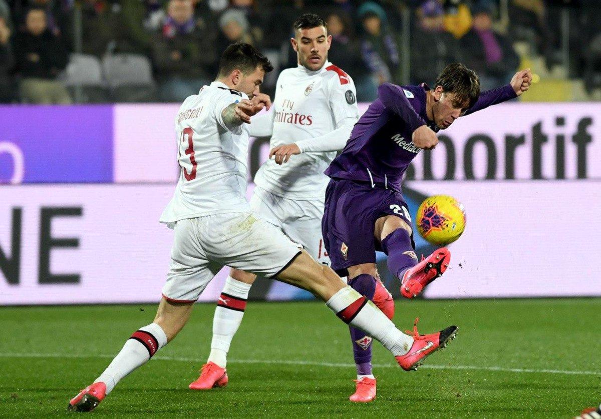 Fiorentina vs AC Milan Highlights, 22/02/2020