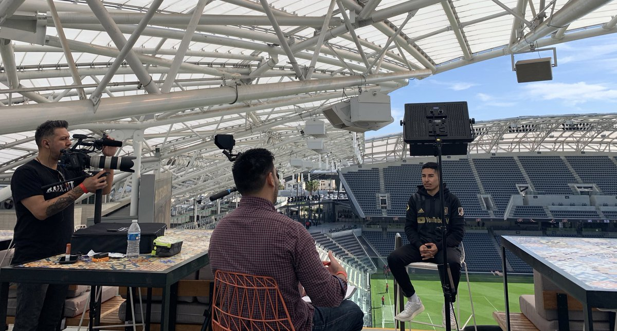Tune in to @KTLA Sports Final tonight at 11:35pm for an exclusive @RemiMartinn interview. #LAFC