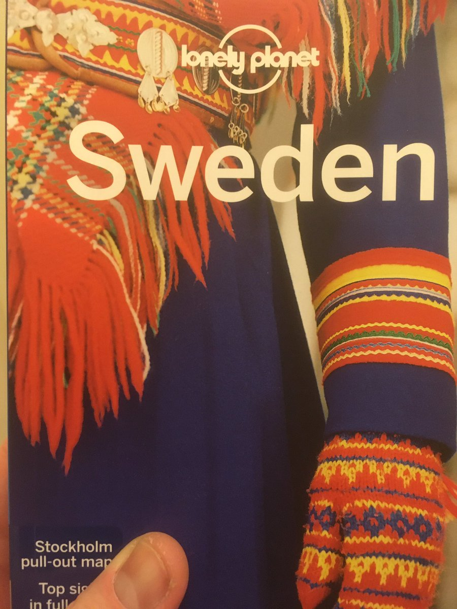 Tonight's reading #Sweden #travel #arcticride2020 #motorcycle
