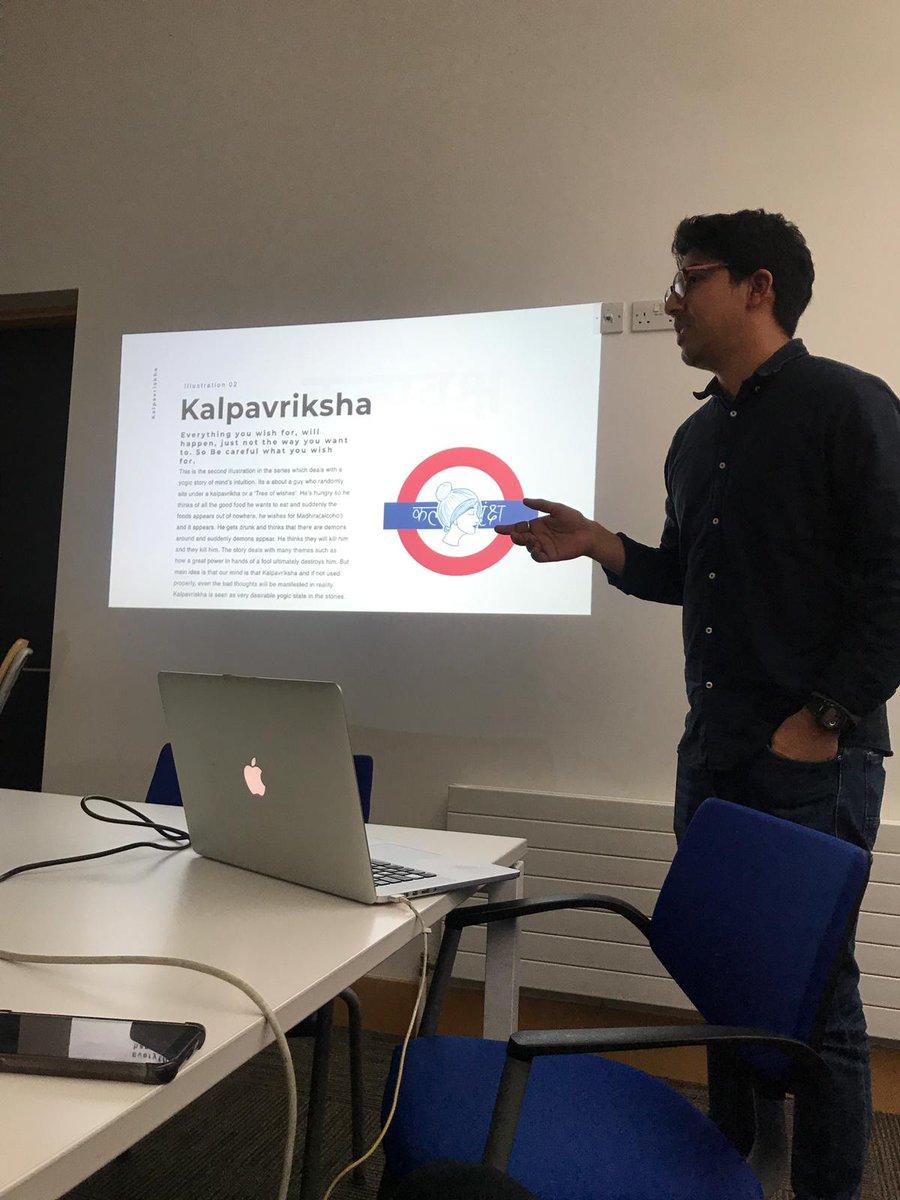 I did my first workshop today on Sanskrit and i love presenting. #Sanskriti #sanskrit #kalpavriksha #MTFest2020 pic.twitter.com/FZJeY70ssH