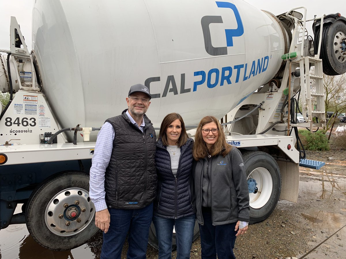 Thanks to the @CalPortland team for having me out for their truck roadeo today!