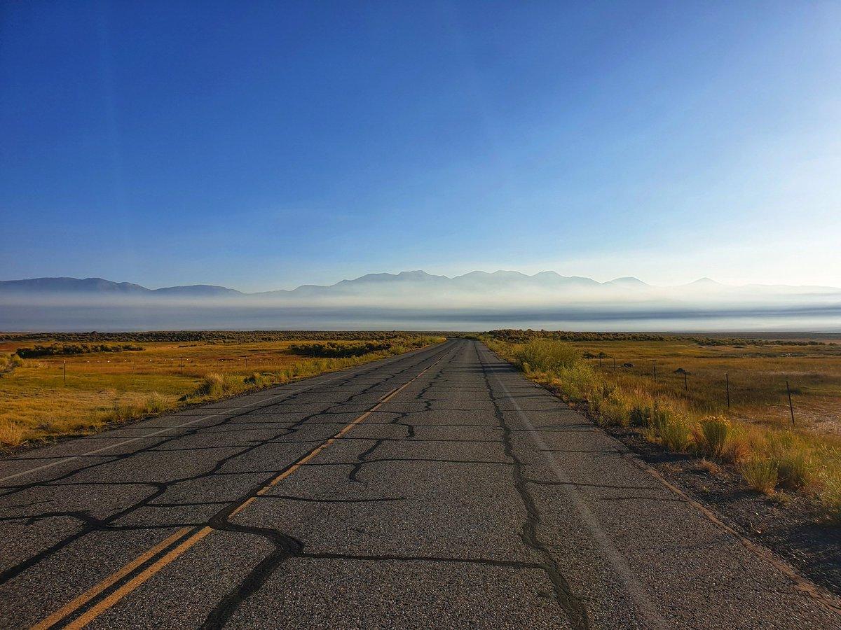 Heading for #benton #mammothlakes #California #usa #travel #morningbeautiful #endlessroaming
