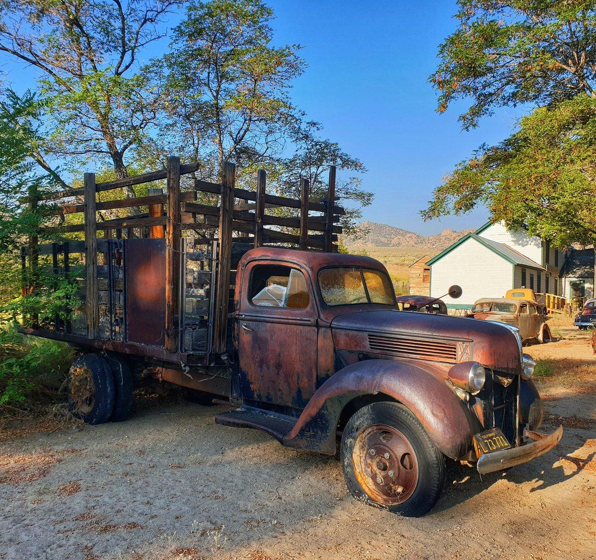 Old truck #benton #Nevada #usa #travel #morningbeautiful #endlessroaming