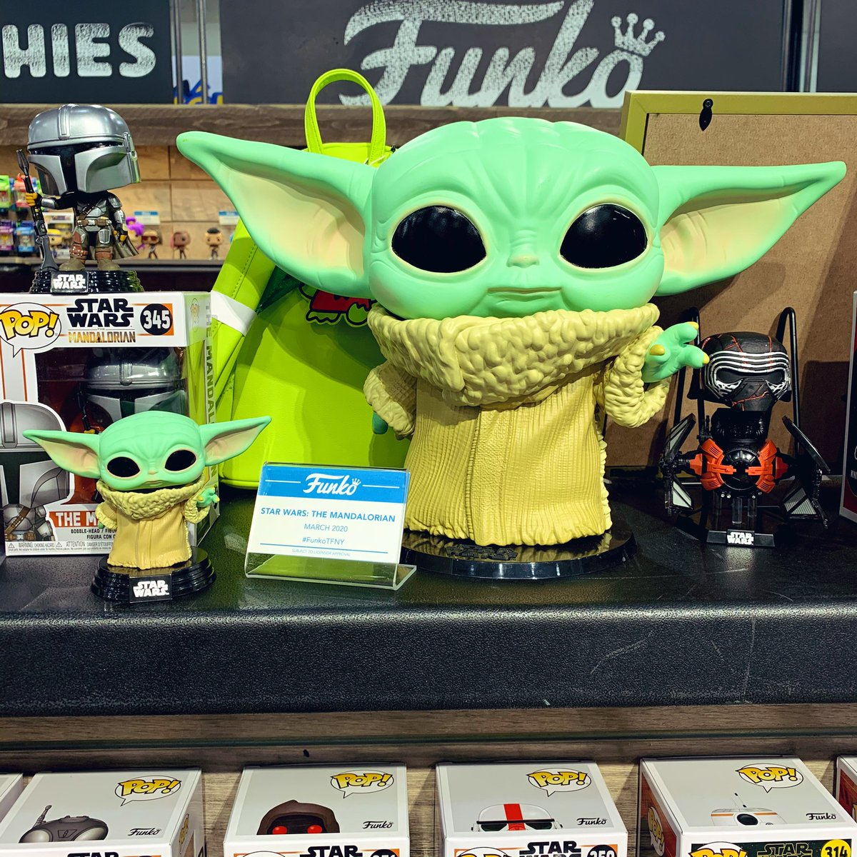 The Child Pop! and 10-inch Pop! are at Toy Fair New York! #FunkoTFNY