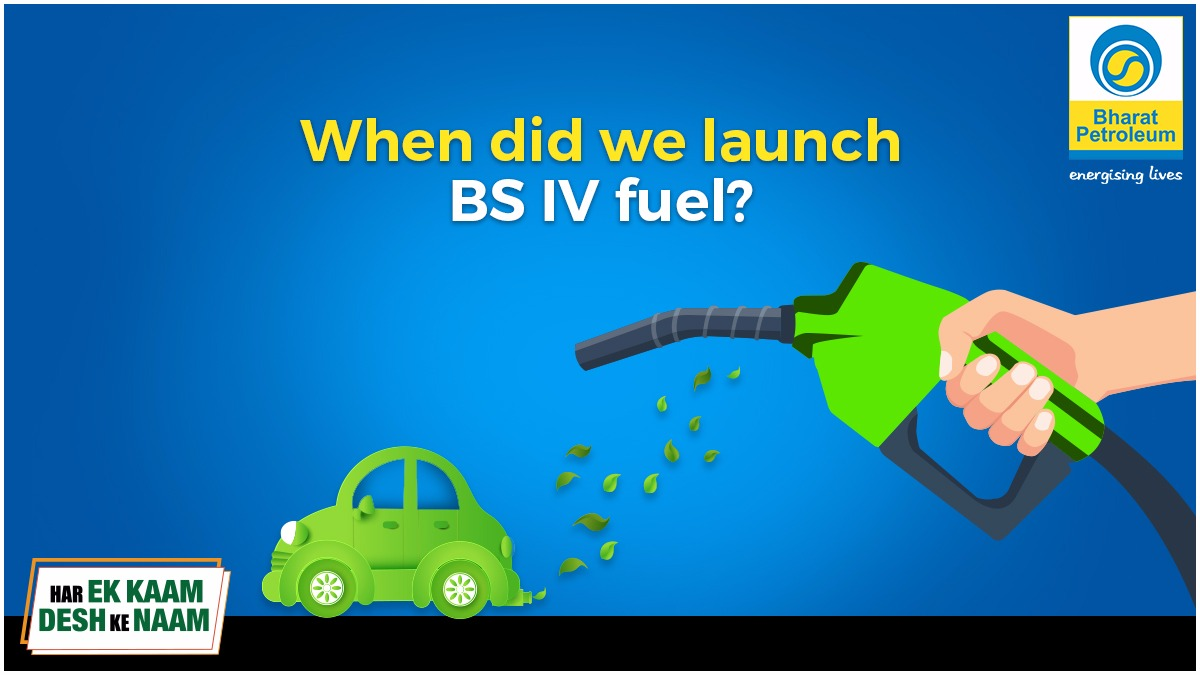 From 1 April 2020 India will switch to BS-VI Grade Fuels, world's cleanest petrol & diesel. Do you know when was BS IV fuel rolled out? Answer this question & you could win goodies! Follow these rules: a. Like & Share this post b. Follow us c. Tag 3 friends #HarEkKaamDeshKeNaam